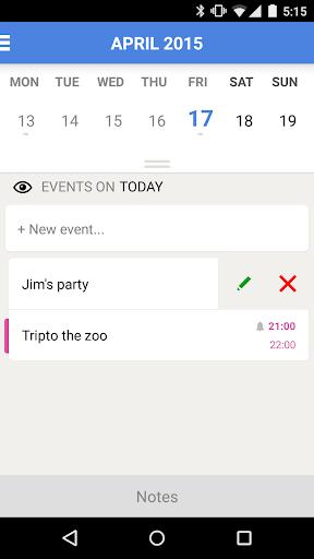 【免費生產應用App】Daily: tasks and calendar-APP點子