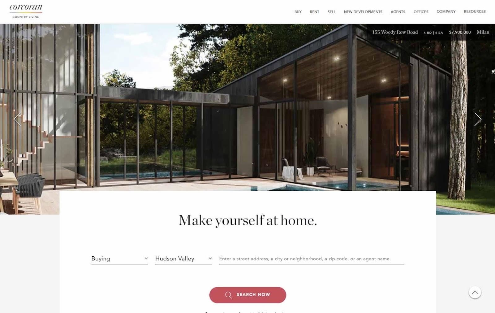 Corcoran homepage