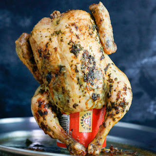 Marc Murphy's Beer Can Chicken.