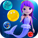 Ocean Bubble Mermaid icon