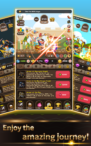 Cash Knight - Finding my manager ( Idle RPG ) screenshot 9