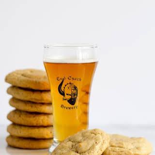 Brown Sugar Beer Cookies.