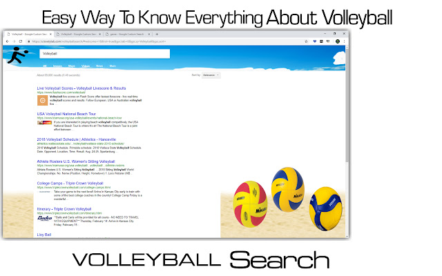 Volleyball Search