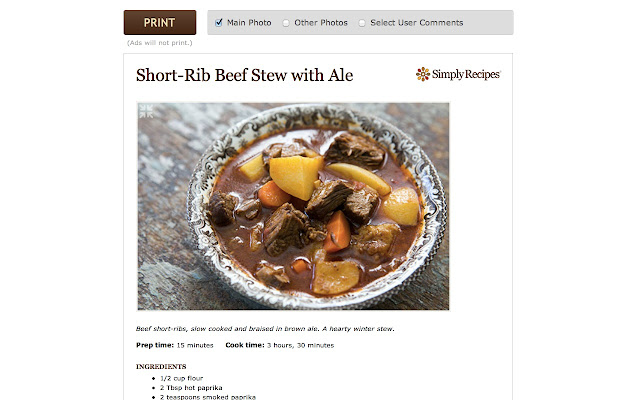 Simply recipes chrome web store a family cooking and food blog with hundreds of healthy whole food recipes for the home cook forumfinder Images