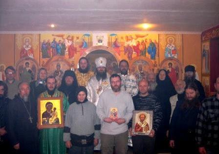 Гости нашего монастыря