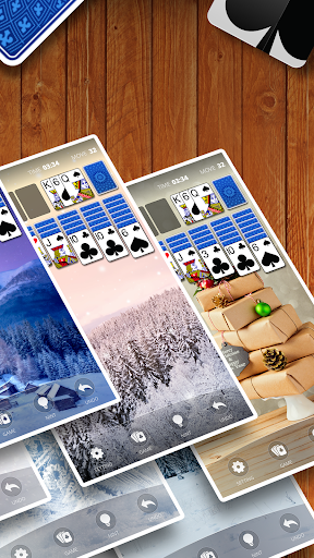 Solitaire by Cardscapes apkpoly screenshots 5