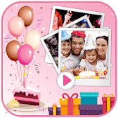 Birthday Video Maker 2019 Android APK Download Free By GIF Tidez Labs