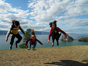 Photo: Children jumping