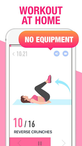 Female Fitness - Women Workout Fitness app screenshot 1 for Android