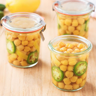 Pickled Chickpeas.