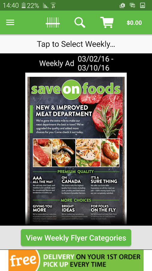 Save-On-Foods- screenshot