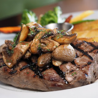 Sauteed Sirloin And Mushrooms
