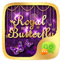 GO SMS ROYAL BUTTERFLY THEME icon