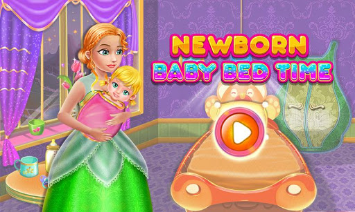 Newborn Baby Bed Time