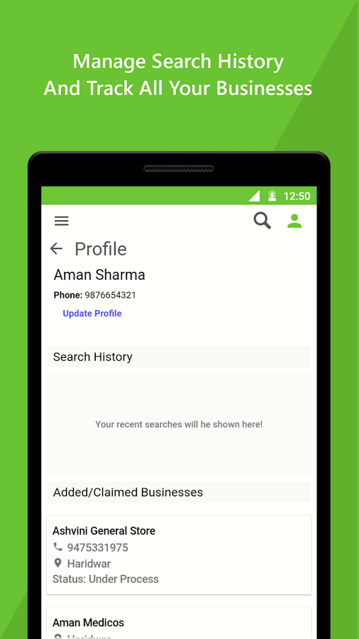 Omnia: Search India Locally- screenshot