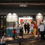 Slide on 79, cheap food and drinks on Pottinger street, Hong Kong in Hong Kong, , Hong Kong SAR