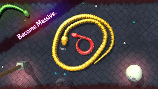 3D Snake . io MOD Apk (Unlimited Money) 6