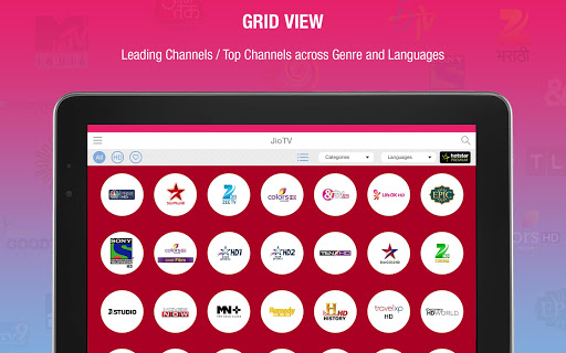 JioTV Live Sports Movies Shows Apps (apk) kostenlos herunterladen für Android/PC/Windows screenshot