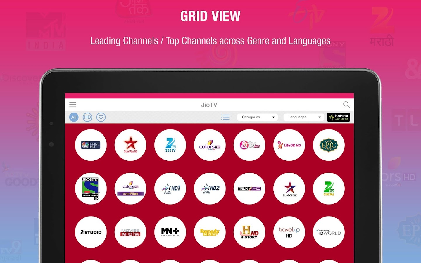 JioTV Live Sports Movies Shows- screenshot