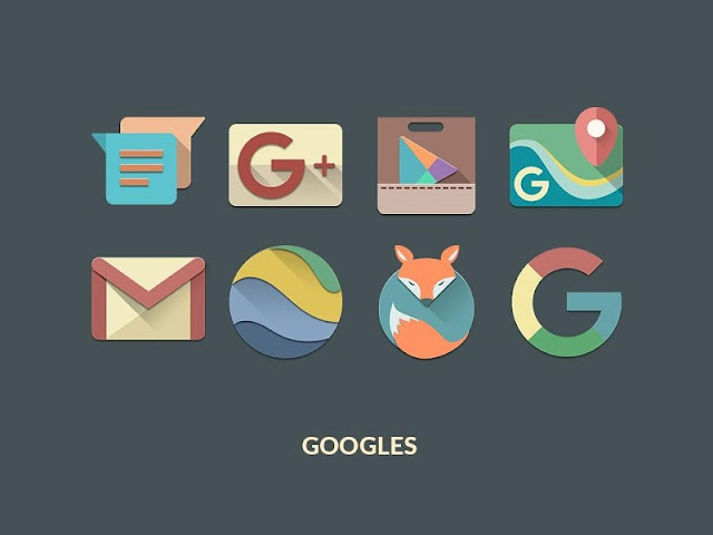 android RETRORIKA ICON PACK Screenshot 0