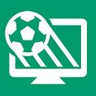 Футбол по ТВ (программа) & Livescore с уведомления icon