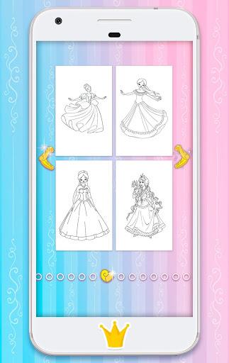 Princess Coloring Pages 1.10 APK MOD screenshots 2