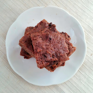 Healthy Protein Fudgy Brownies.