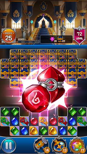 Jewel Royal Castle: Match3 puzzle apkpoly screenshots 3