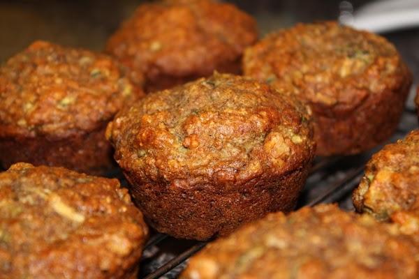 Zucchini Nut Muffins Recipe