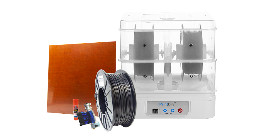 From achieving excellent bed adhesion to proper filament storage, this guide prepares you with the knowledge and tools you will need to succeed when printing with nylon.