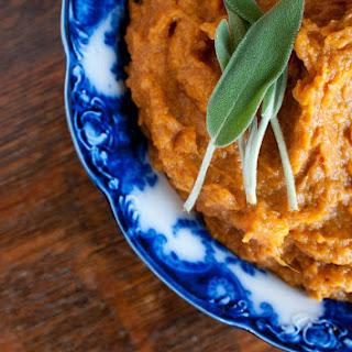 Sour Cream Balsamic Sweet Potatoes