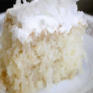 CREME OF COCONUT CAKE.