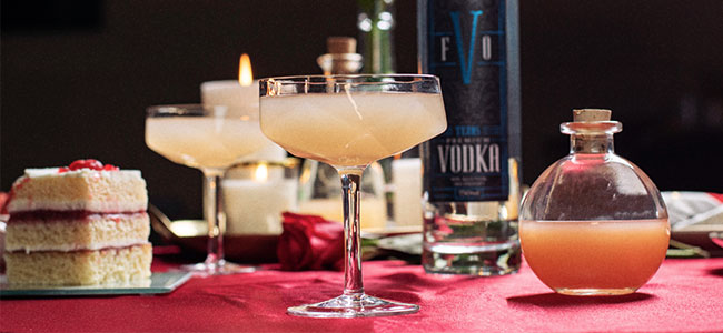 A Valentine's Day Cocktail by Fire Oak Distillery