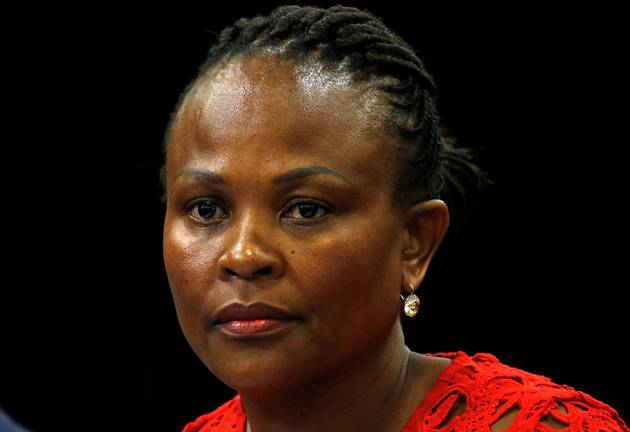 Public Protector Busisiwe Mkhwebane . File photo