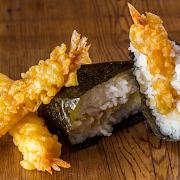 Shrimp Tempura Riceball