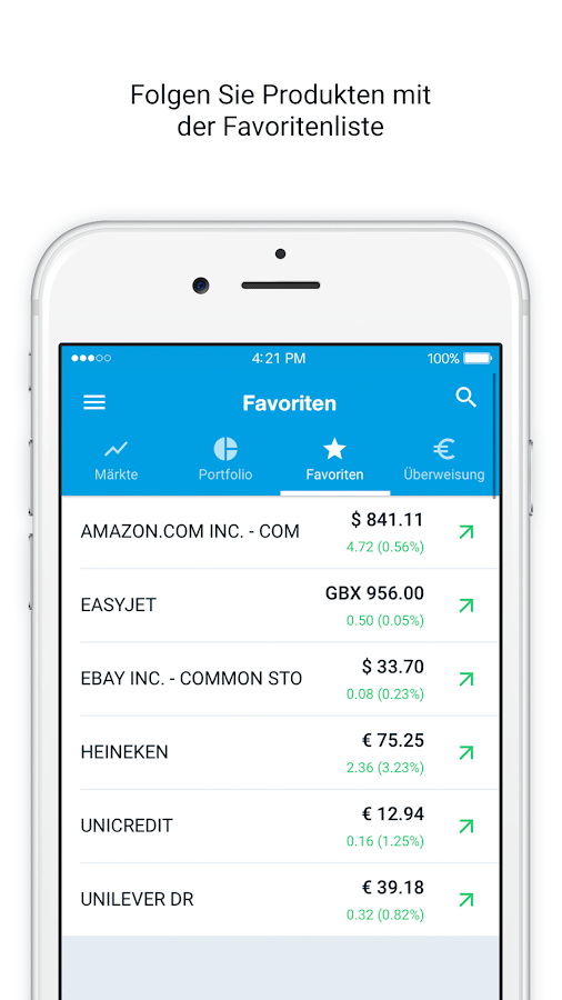 DEGIRO - Trading App – Screenshot