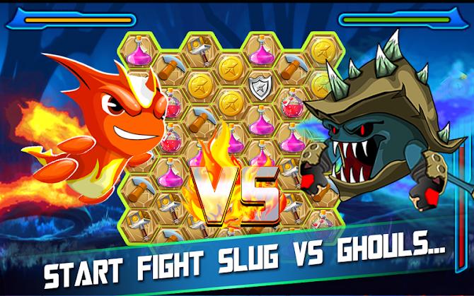 Slug Match 3 RPG Android 9