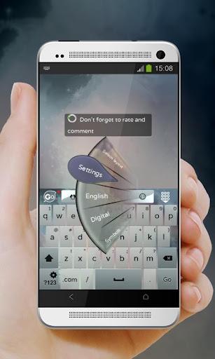 玩個人化App|Metallic spheres GO Keyboard免費|APP試玩