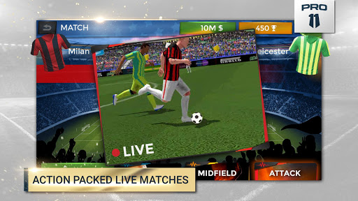 Pro 11 - Soccer Manager Game apkmr screenshots 1