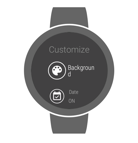 GDG Watch Face- screenshot