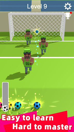 Straight Strike - 3D soccer shot game screenshots 2