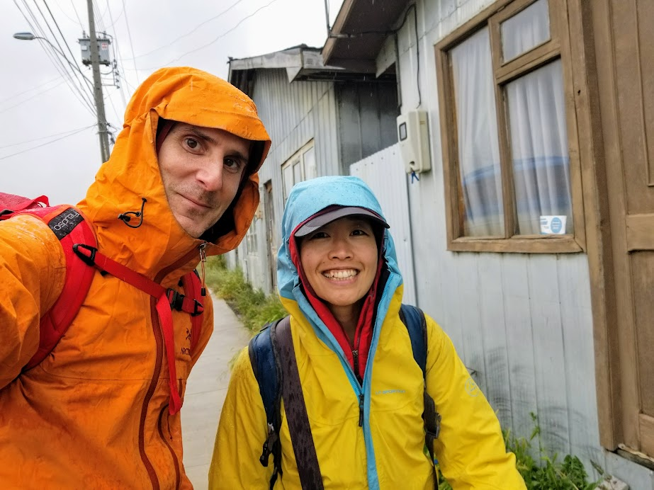 Staying warm-ish and dry-ish in Puerto Natales