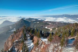 Photo: Zimowy widoczek z Trzech Koron