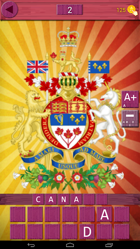 Guess the Country Emblems Quiz
