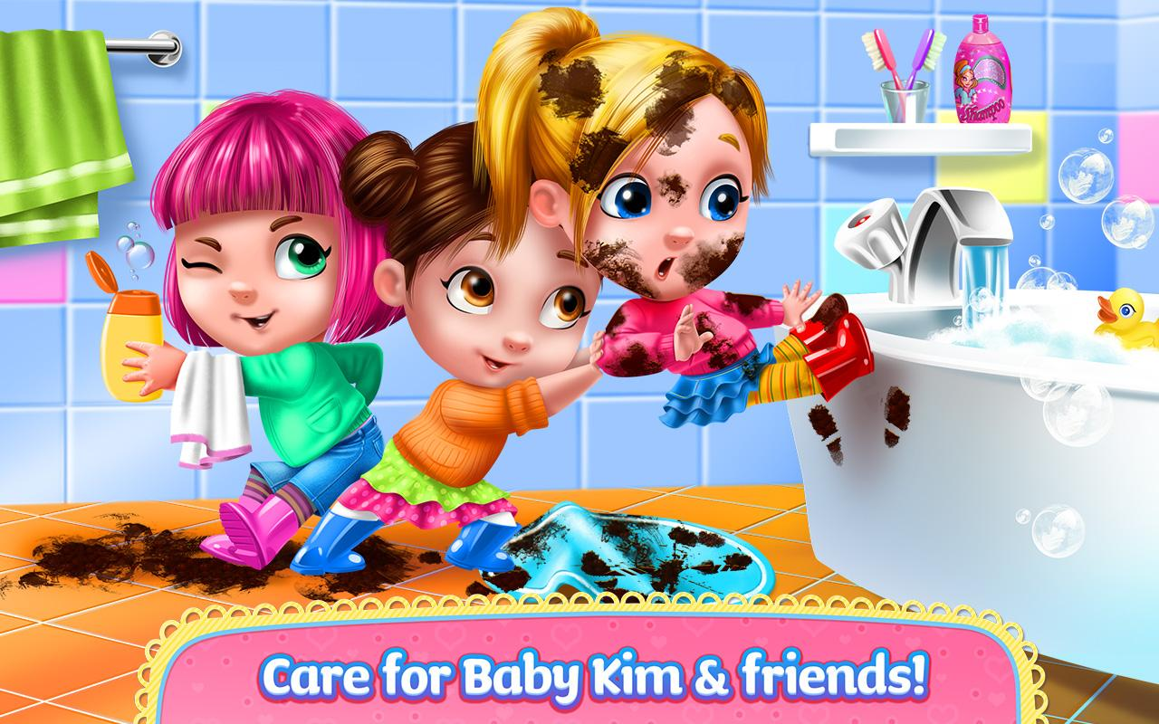 Baby Kim Care Dress Up Apl Android Di Google Play