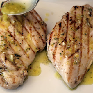 Easy Grilled Chicken with Vinaigrette