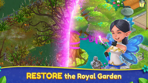 Royal Garden Tales - Match 3 Puzzle Decoration - screenshot