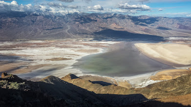Photo: Badwater Basin from Dante's View, Death Valley National Park.