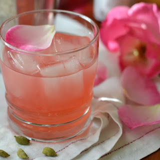The Cardamom Rose Cocktail.