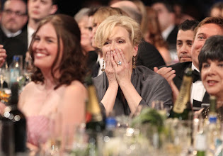 Photo: LOS ANGELES, CA - JANUARY 29:  Actress Meryl Streep attends The 18th Annual Screen Actors Guild Awards broadcast on TNT/TBS at The Shrine Auditorium on January 29, 2012 in Los Angeles, California. (Photo by Christopher Polk/WireImage) 22005_008_CP_1211.JPG *** Local Caption *** Meryl Streep